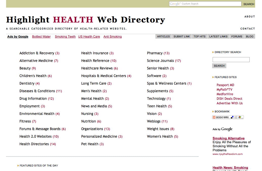 highlight-health-web-directory