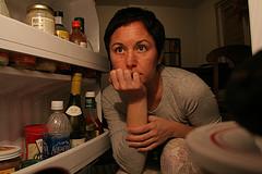 Looking in the Refridgerator