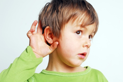 Boy hearing