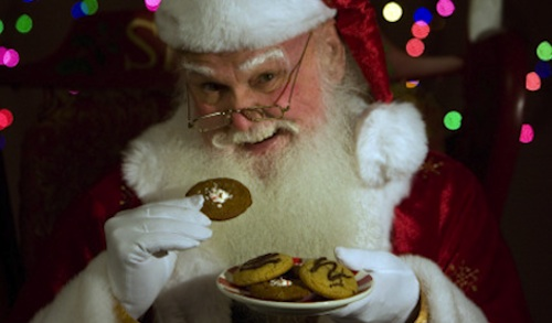 Cookies and Santa Claus
