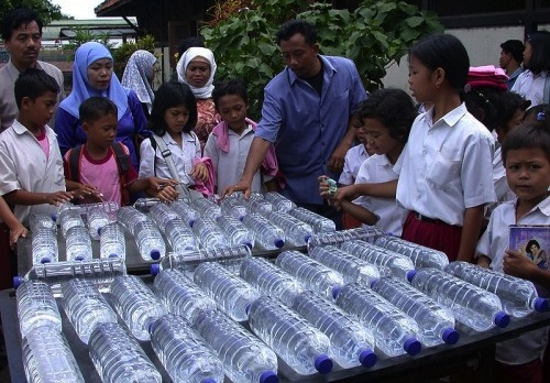 SODIS in Indonesia