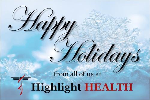 Happy Holidays from Highlight HEALTH