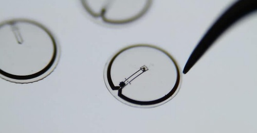 Electronic contact lens