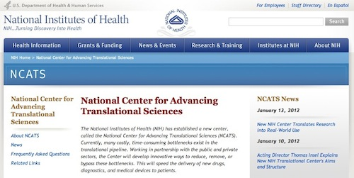 National Center for Advancing Translational Sciences