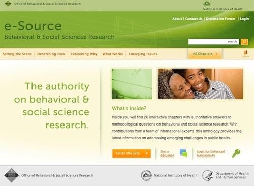 OBSSR e-Source