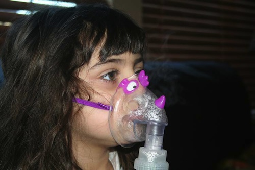 Breathing treatment