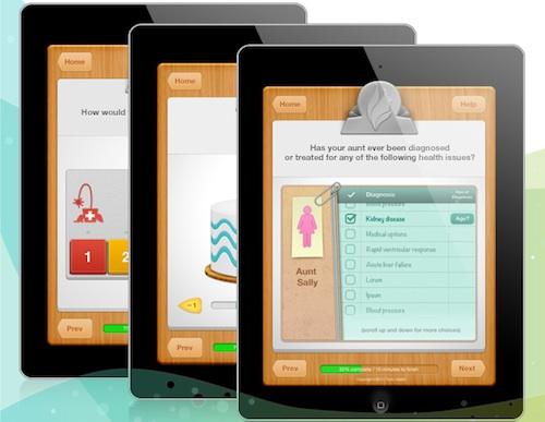 Tonic iPad app