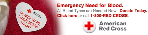 Red Cross: Emergency need for blood