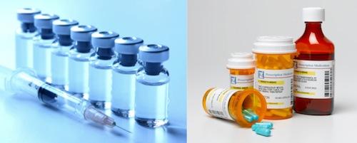 Vaccines and antibiotics