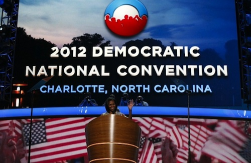 2012 Democratic National Convention Michelle Obama