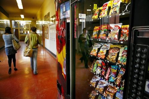 School vending machines