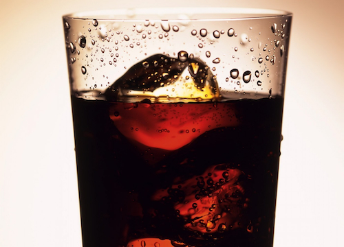Glass cola