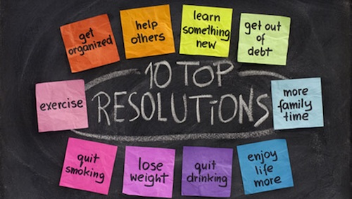 Top 10 Resolutions