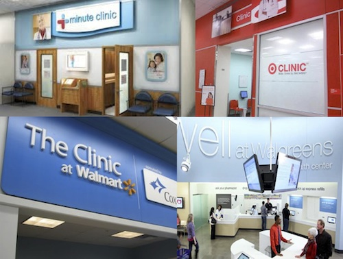 Retail-based healthcare clinics