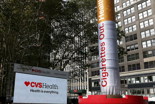 CVS Cigarettes Out