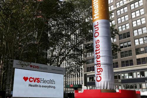 CVS Cigarettes Out